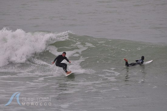 Surf Town Morocco : можно накатать на крутые фоточки)