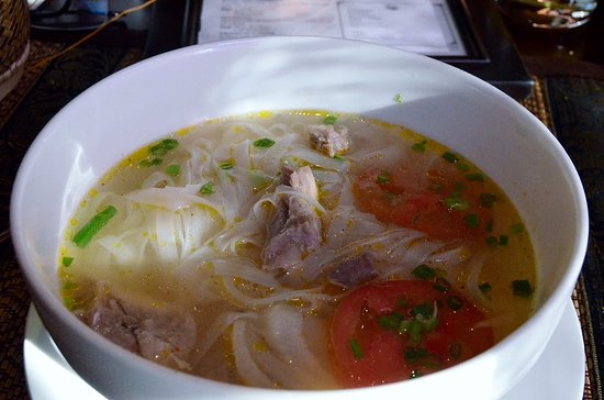 Salana Boutique Hotel: breakfast pho