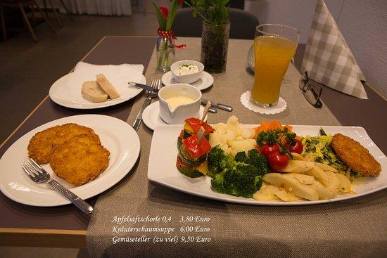 Oberkirch, Alemania: Gemüseteller für 9,50 Euro