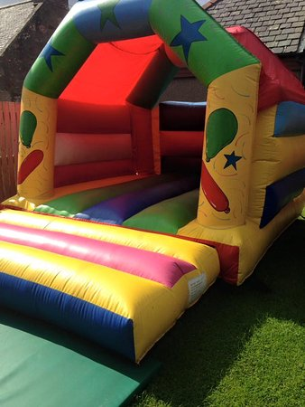 Alness, UK: Bouncy Castle