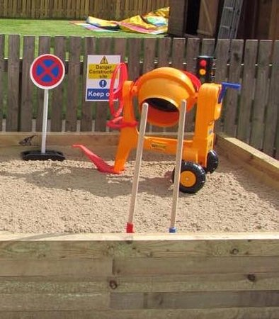 Alness, UK: Outdoor Giant Sand Pit