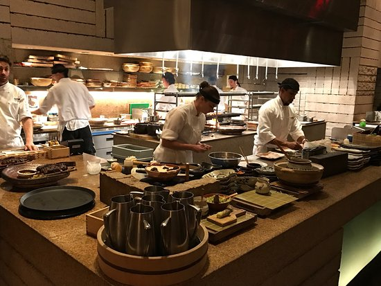 Cucina a vista - Picture of Zuma, Miami - TripAdvisor
