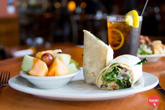 Garden hummus wrap picture of the brass ring madison tripadvisor the brass ring garden hummus wrap junglespirit Images