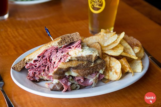 Reuben sandwich picture of the brass ring madison tripadvisor the brass ring reuben sandwich junglespirit Image collections