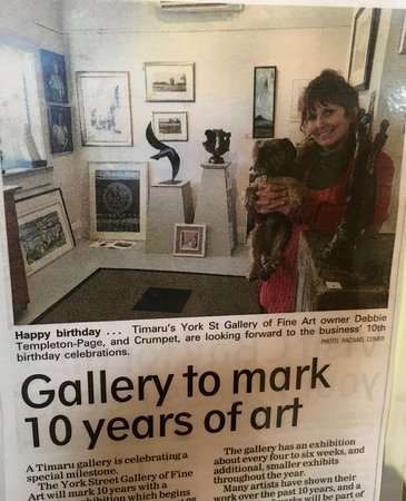 Timaru, New Zealand: gallery marked its 10years birthday in 2016