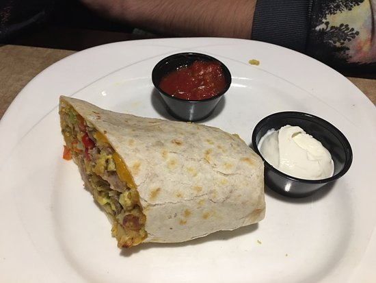 Liberty Lake, WA: Breakfast burrito