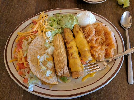 Balmorhea, TX: Lunch plate