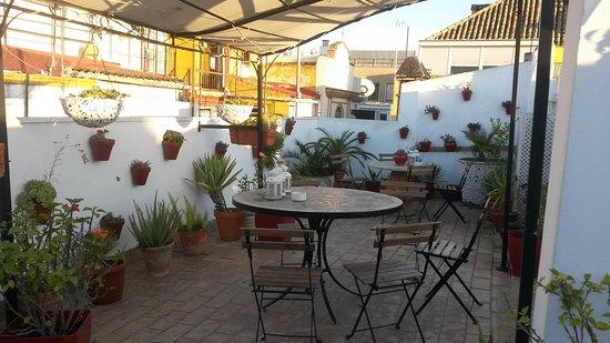 Hotel un patio al sur terrazza sui tetti