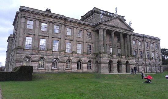 Lyme Park: The south front at Lyme