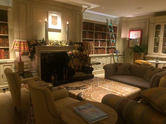 The Soho Hotel : Lounge area