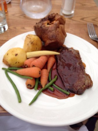Golf View Hotel & Spa: Sunday lunch with a view