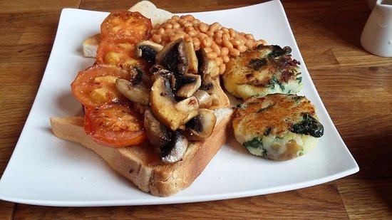 Charlestown, UK: Vegetarian Breakfast