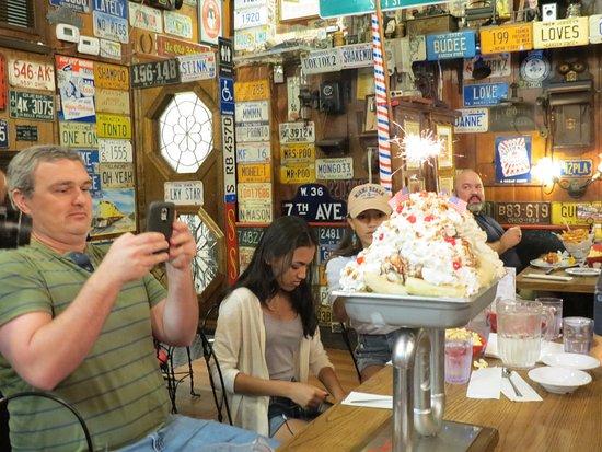 kitchen sink - Picture of Jaxson's Ice Cream Parlor, Dania Beach