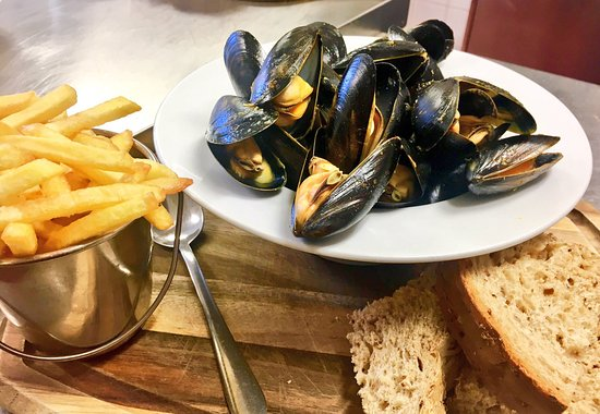 Chetnole, UK: Mussles