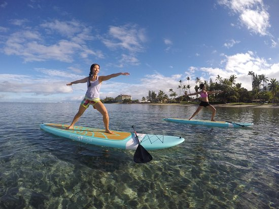 Maui SUP Yoga