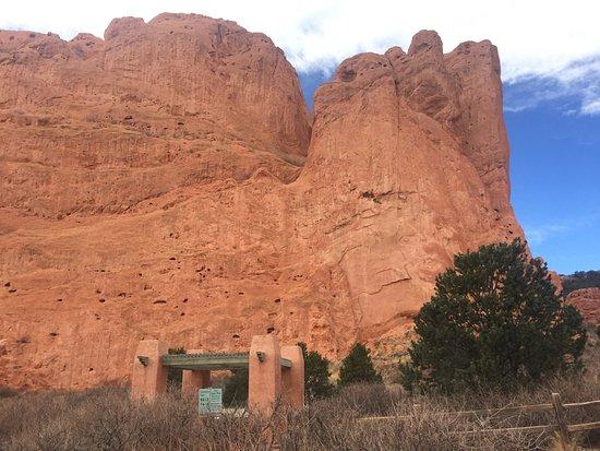 Main Parking Lot Picture Of Garden Of The Gods Colorado Springs Tripadvisor