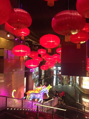 Crown Casino: Crown decorated for Chinese New Year