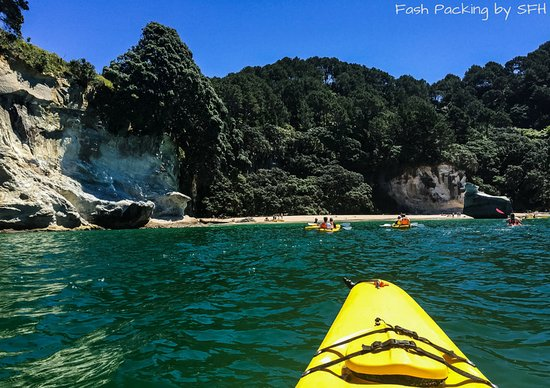 Cathedral Cove Kayak Tours: Almost there