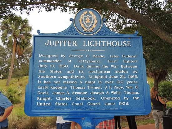 จูปีเตอร์, ฟลอริด้า: Lighthouse Information