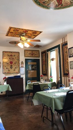 Deitsch Eck Restaurant: Some of the gorgeous PA Dutch artwork created by one of the most famous PA Duch artists-Johnny O