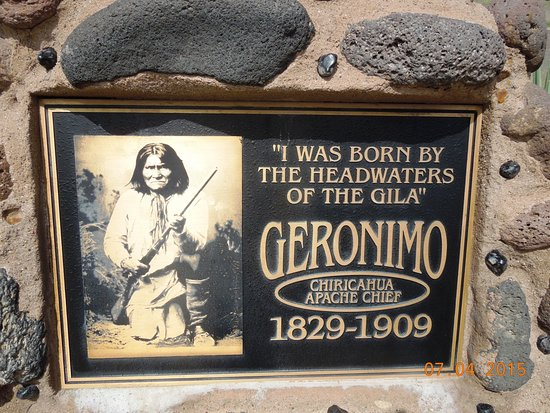 Gila, NM: Great Indian Chief Geronimo