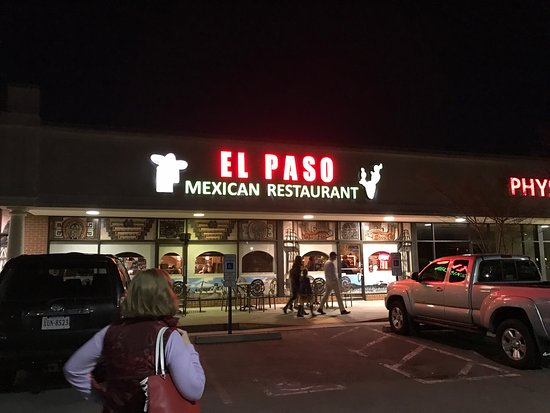 El Paso: Good food! Great service! You will walk away full and content!