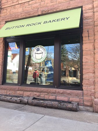 Street view of the Button Rock Bakery