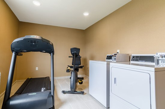 Enjoy the benefit to work out in our Fitness Center or get