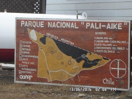 Región de Magallanes, Chile: mapa