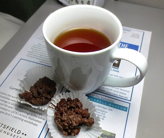 Pittsfield, MA: Tea and chocolate