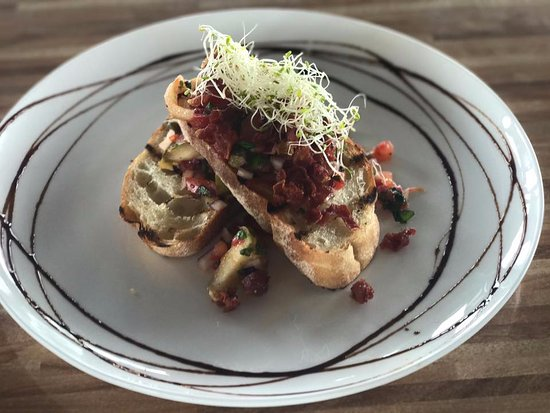 Ingham, Australia: Crispy Prosciutto and Apple Bruschetta!