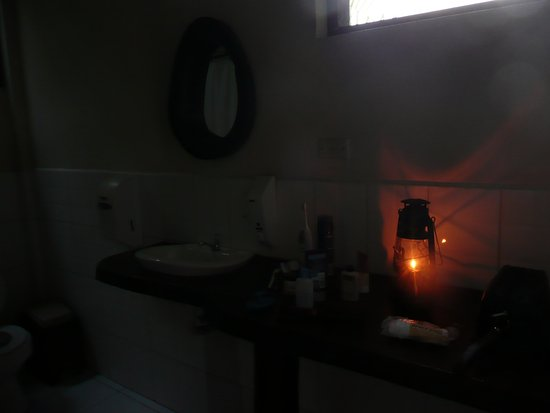 Cotococha Amazon Lodge: Oil lamps for the rooms at night. No electricity at your room ;-)