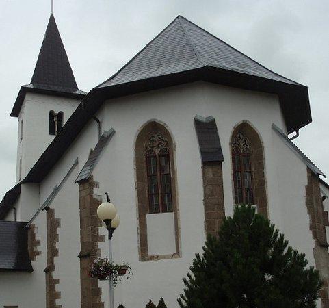Hrabusice, Słowacja: Esterno navata