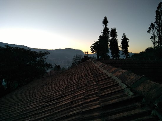 Zest Danish Villa: Sunrise from the machan