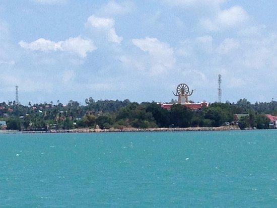 Bamboo Bungalows: View to Buddha Pier