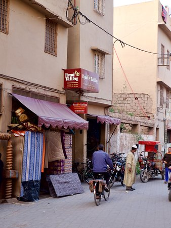 RIAD TAFILAG : Eingang zum Ryad