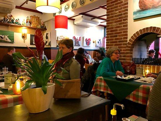 Rheden, Países Bajos: Restaurant achter