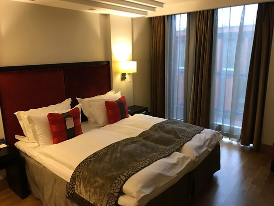 Radisson Blu Elizabete Hotel : Standard dobbelt værelse (824)