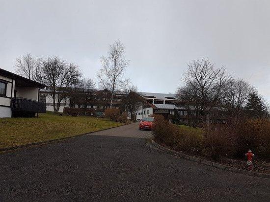 Hotel Rhön Residence: Blick vom Parkplatz