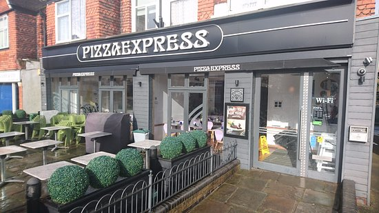 Pizza Express Wallington 40 Stafford Rd Menu Prices