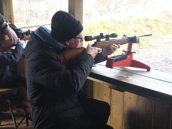 Crieff Hydro Hotel and Resort: Shooting range