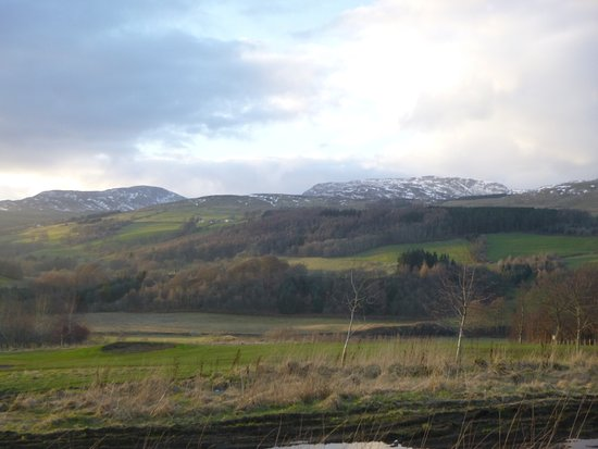 Crieff Hydro Hotel and Resort: View from the Lodge