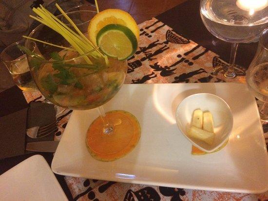 Restaurante Chandinho : Ceviche di pesce