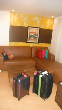 Aspen Suites Sukhumvit 2 by Compass Hospitality: Sitting area