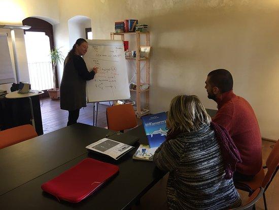 Italian language class picture of l olivo italiano italian