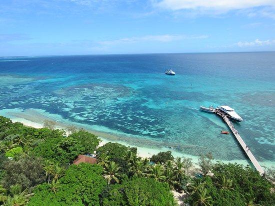 Isla del faro Amedee: Vue du haut du phare