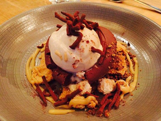 Chocolate Mousse Hazelnut Ice Cream Salted Marple Caramel