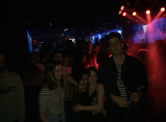 Le Rex Club: So many different people to socialise and make friends with.