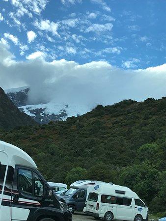 DOC White Horse Hill campsite: View