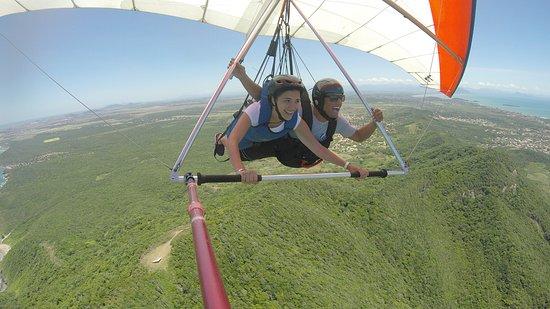 Búzios, RJ: Quando a aluna vira piloto.